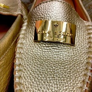 Kate Spade Corrie loafer GOLD size 7